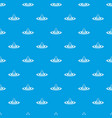 water drop and spill pattern seamless blue vector image vector image