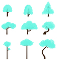 Tree Collection 8 vector image