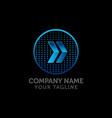 arrow icon delivery service logo web