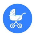Baby transport icon in black style isolated on vector image vector image
