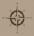 Canvas compass vector image vector image