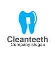Clean Design vector image