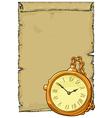 clocks background vector image