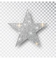 gold glitter star golden sparkle luxury vector image vector image