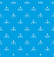 measurement pattern seamless blue vector image vector image