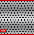 metal background with rhombus shape patterns vector image vector image