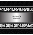 Vintage background with classic royal ornaments vector image vector image