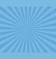 blue art striped background modern stripe rays vector image vector image