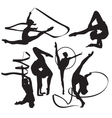 Gymnasts vector | Price: 1 Credit (USD $1)