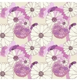 Seamless floral texture vector image vector image