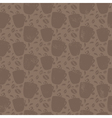 Seamless pattern for coffee themed Coffee cup and vector image vector image