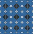 tile mint blue grey and black pattern or website vector image vector image
