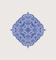 arabic style decorative element vector image vector image