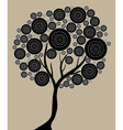 artistic tree vector image