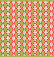 trendy christmas stripes background seamless vector image vector image