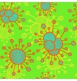 bacterial background Eps10 vector image vector image