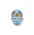 day dead patch vector image