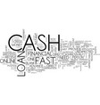 first cash loan cash to meet your financial vector image vector image