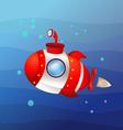 High Speed Submarine vector image