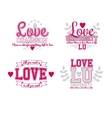 Love Set vector image vector image