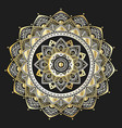 mandala indian antistress medallion abstract vector image vector image