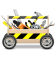 Mobile Toolbox vector image vector image