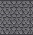 seamless textured pattern gray old roof vector image vector image