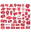 special offer 5 percent sale banners and coupons vector image vector image