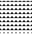 tile black and white triangle pattern background vector image vector image