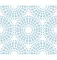 Abstract seamless pattern with decorative circles vector image vector image