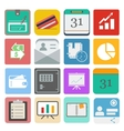business set icon vector image vector image