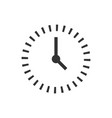 clock countdown icon in flat style time vector image vector image