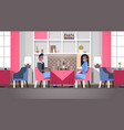 couple sitting cafe table romantic dinner happy vector image vector image