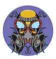 Crazy gas mask bio hazard monster