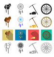 gold fever history and other web icon in vector image vector image
