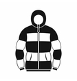 Hoodie icon in simple style vector image vector image