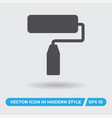 paint roller icon simple sign for web site and vector image vector image