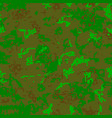 seamless camouflage of pixel pattern vector image vector image