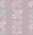 seamless floral background pattern wallpaper vector image vector image