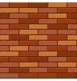 Seamless Old Brick Wall Pattern vector image vector image