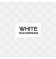 white and gray square grid white background vector image
