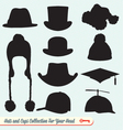 Hats and Caps Collection vector image