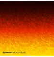 Abstract Background using Germany flag colors vector image vector image