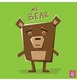 Angle bear vector image vector image