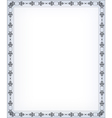 blank retro styled background vector image