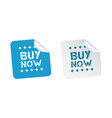 buy now stickers on white background vector image vector image