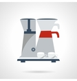 Coffee making icon Flat color style vector image