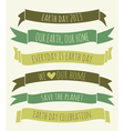 Earth day banners collection vector | Price: 1 Credit (USD $1)