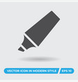 marker icon simple sign for web site and mobile vector image vector image