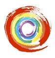 Multicolor grunge circle vector image vector image